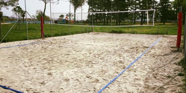 Il Campo da Beach Volley È Aperto