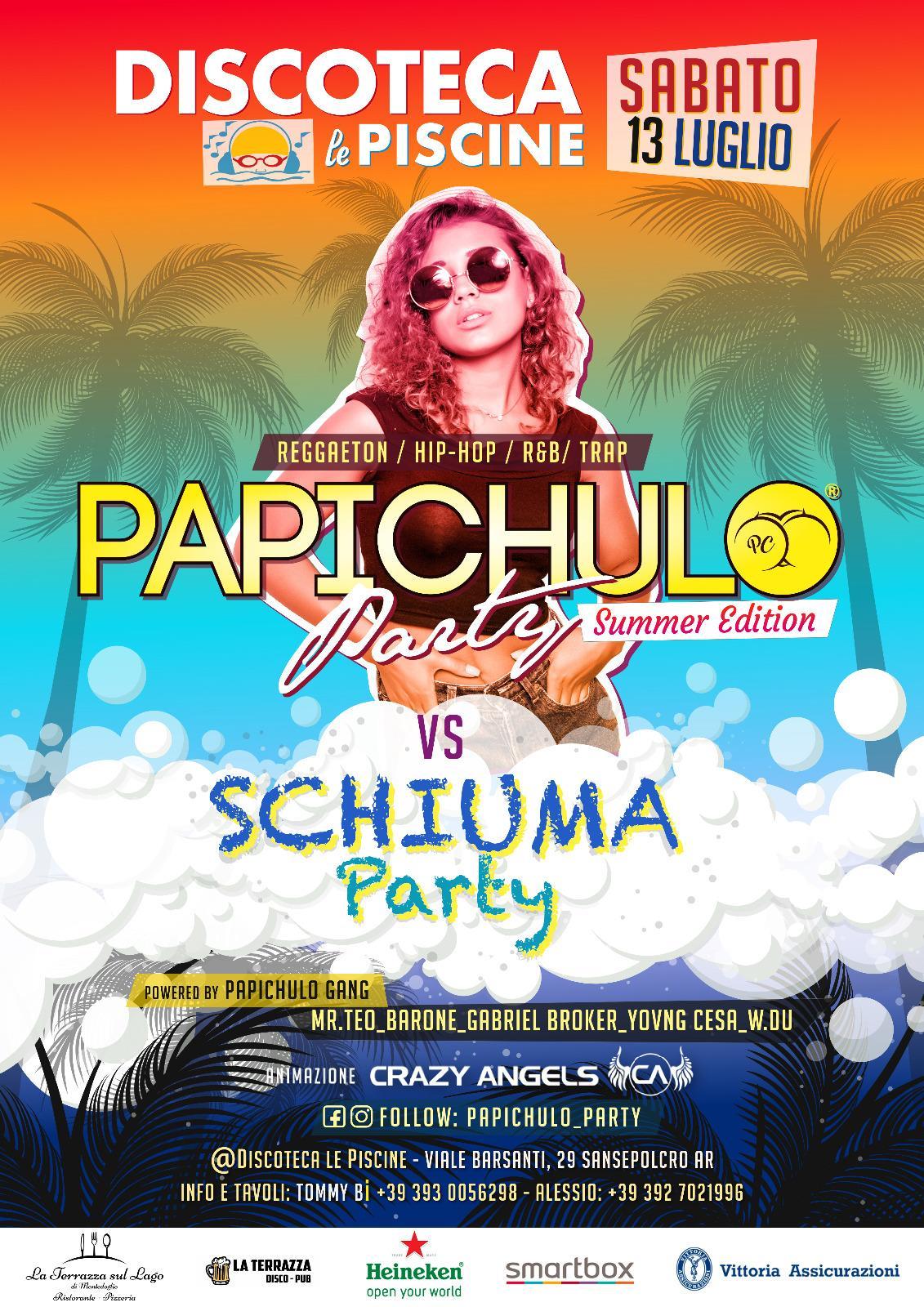 Papichulo-schiuma-party-2 La Discoteca