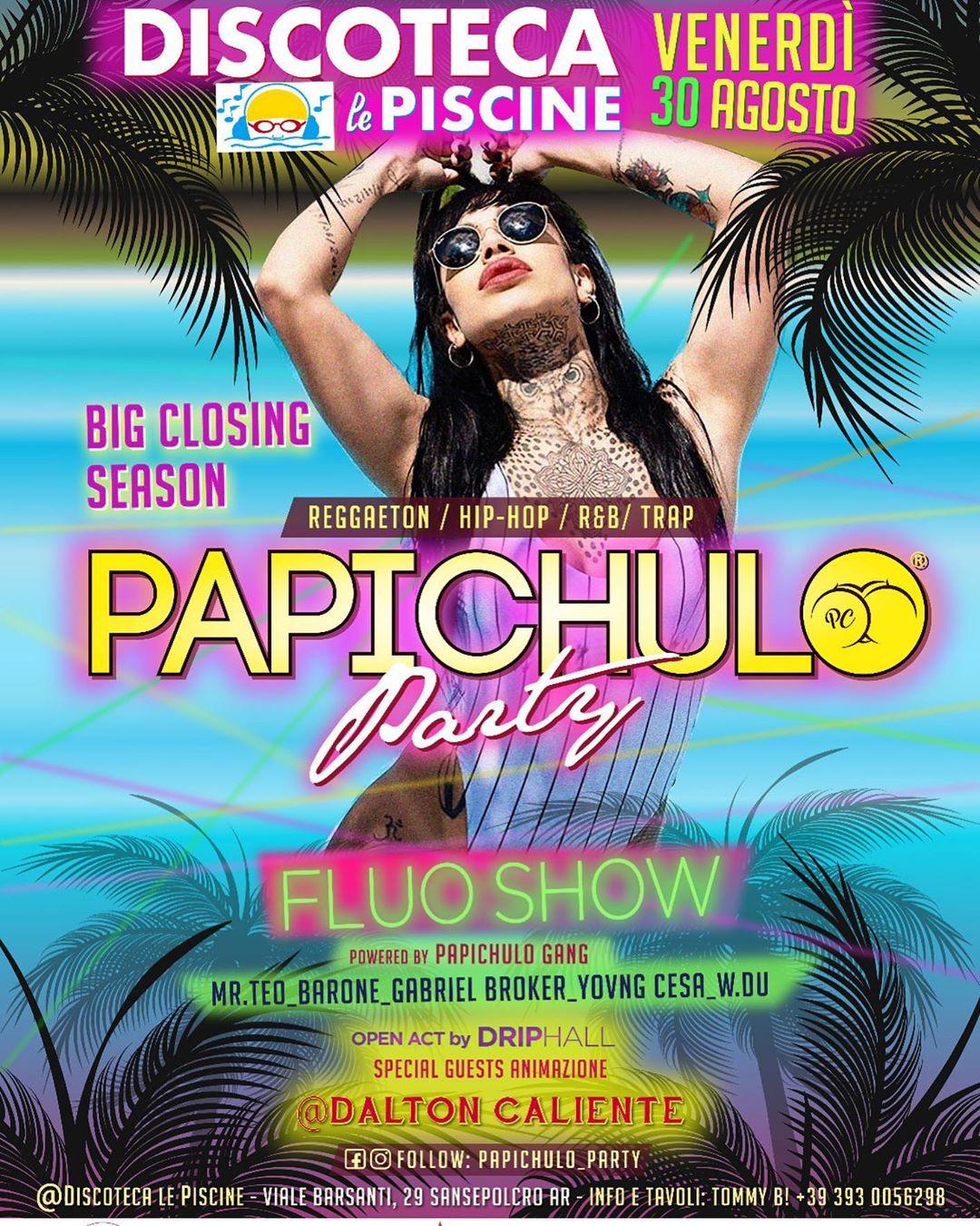 Papichulo-Fluo-Show La Discoteca