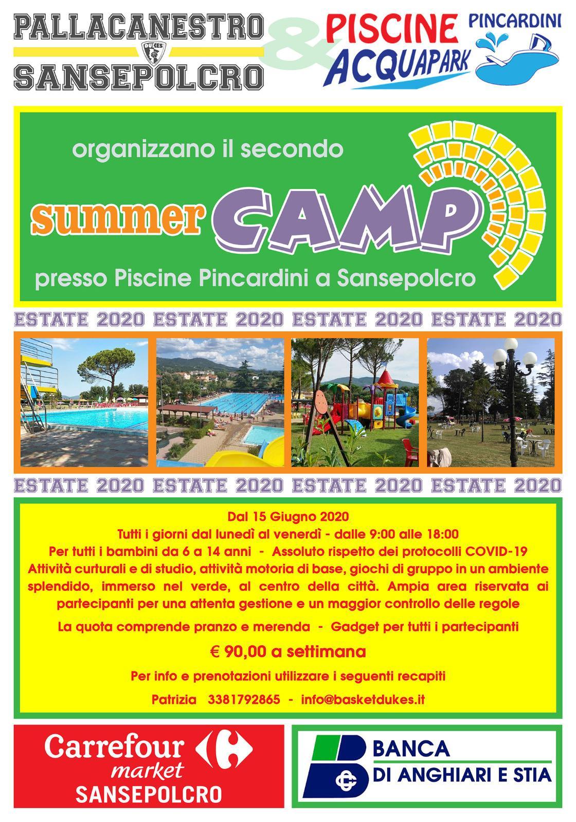 Summer Camp 2020 | Le Piscine S.r.l.